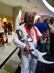 Klingon Elvis, because the King sounds better in the original Klingon