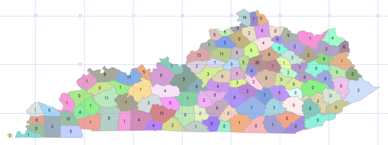 TRIs per County
