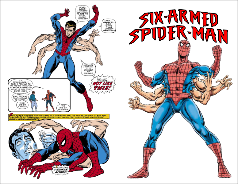 Six-Arm Spider-Man 1
